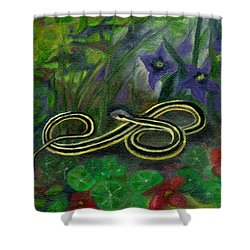 Ribbon Snake Shower Curtain