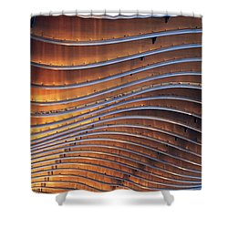 Ribbons Of Steel Shower Curtain