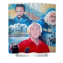 Richard Harris Shower Curtain