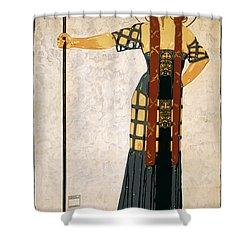 Richard Strauss-woche 1910 Poster Shower Curtain