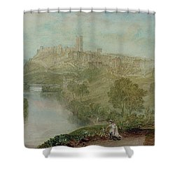 Richmond In Yorkshire Shower Curtain by Joseph Mallord William Turner