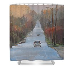 Richmond To The Jubilee Shower Curtain by Ron Wilson