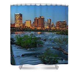 Richmond Twilight Shower Curtain by Rick Berk