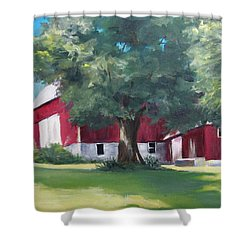 Rich's Barn Shower Curtain