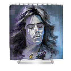 Rick At Play Shower Curtain by Terry Webb Harshman