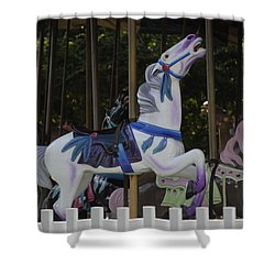 Shower Curtain featuring the photograph Ride by Elsa Marie Santoro