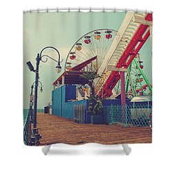 Ride It Out Shower Curtain by Laurie Search