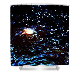 Ride Through Cosmos Shower Curtain