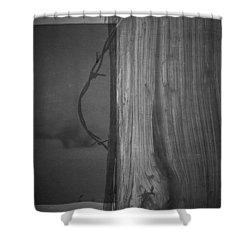 Rider Shower Curtain