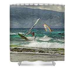 Shower Curtain featuring the photograph Riders On The Storm by Susan Rissi Tregoning