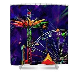 Rides At The Fair Shower Curtain