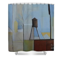 Ridgefield Shower Curtain by Ron Erickson
