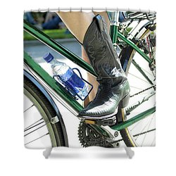 Riding In Style Shower Curtain