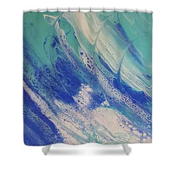 Riding The Wave Shower Curtain