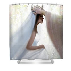 Righteous Crown Shower Curtain by Kume Bryant