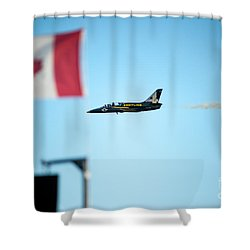 Rightside Up Shower Curtain