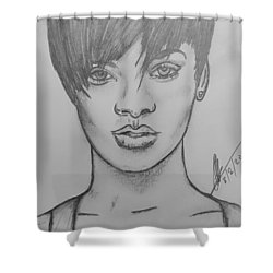Rihanna 2 Shower Curtain
