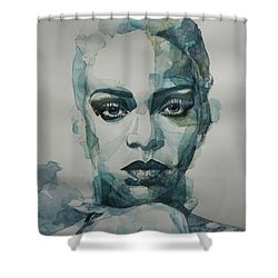 Rihanna - Art Shower Curtain