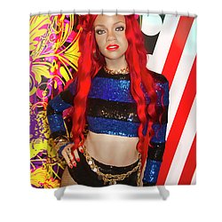Rihanna Shower Curtain