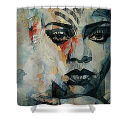 Rihanna What's My Name  Shower Curtain
