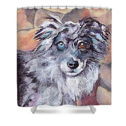 Riley Shower Curtain