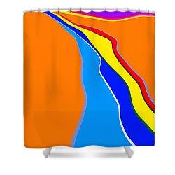 Rill Shower Curtain