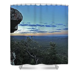 Rim Daybreak Shower Curtain