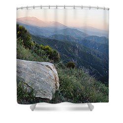Rim O' The World National Scenic Byway Shower Curtain