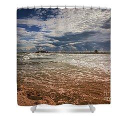 Rimini Storm Shower Curtain