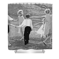 Shower Curtain featuring the photograph Ring Around The Rosy by Colleen Coccia