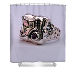 Ring Owl Shower Curtain