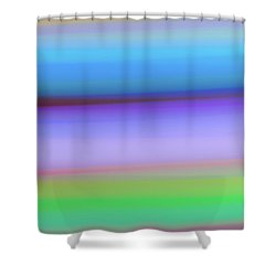 Rings Of Neptune Shower Curtain