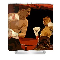 Ringside Shower Curtain by David Lee Thompson