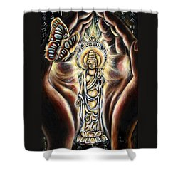 Rinne Shower Curtain