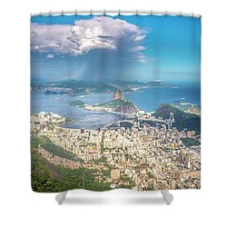 Shower Curtain featuring the photograph Rio De Janeiro by Andrew Matwijec