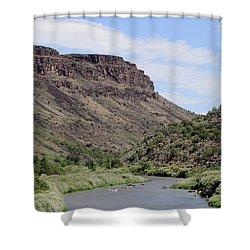 Rio Grande Del Norte Shower Curtain