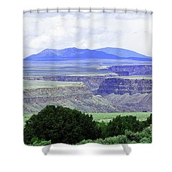Rio Grande Gorge Shower Curtain