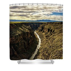 Rio Grande Gorge  Shower Curtain by Robert FERD Frank