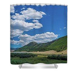 Rio Grande Headwaters #3 Shower Curtain