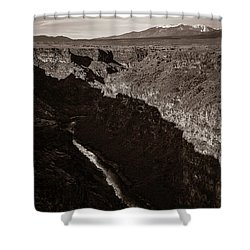 Shower Curtain featuring the photograph Rio Grande River Taos by Marilyn Hunt