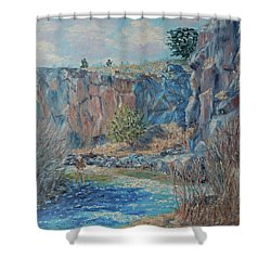 Rio Hondo Shower Curtain