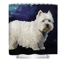 Rio In Texture Shower Curtain