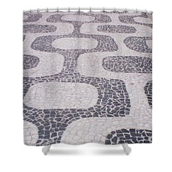 Rio Sidewalk Shower Curtain