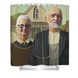 Riopel Gothic Shower Curtain