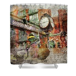 Riot Of Colour Distillery District Shower Curtain