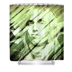 Rip Tom Petty Shower Curtain