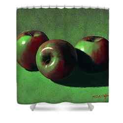 Ripe Apples Shower Curtain