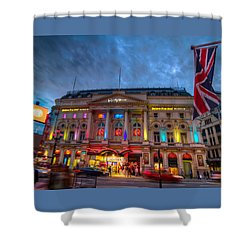 Ripley's At Piccadilly Circus Shower Curtain