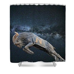 Ripping Through The Galaxy Shower Curtain