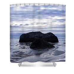 Ripple Effect Shower Curtain